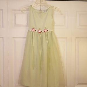 Adorable flower girl dress
